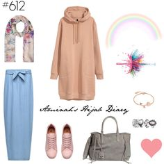 A fashion look from March 2017 by aminahs-hijab-diary featuring Monsoon ve Givenchy