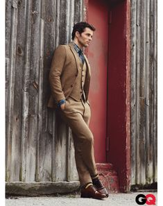 """Who could say no? With a certain nostalgic appeal and a sharp mod fit this tweed and plaid outfit just has a way of saying """"I look fantastic and I'm in charge!"""""""