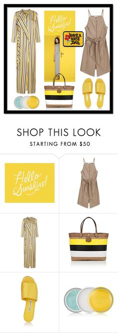 """""""sunshine in december"""" by kanares ❤ liked on Polyvore featuring Bougeotte, Pottery Barn, Acne Studios, Ghurka, Manolo Blahnik, Sunshine, amazingsets, december and warmwinter"""
