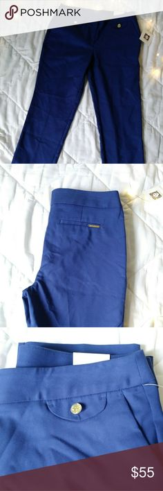 New ANNE KLEIN woven bottoms Mazarine Blue Woven Bottoms They are new they are just a little wrinkled. Anne Klein Pants