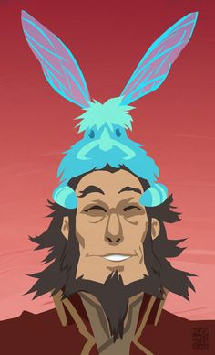 Dragonfly-bunny spirit friends for everyone! by http://bryankonietzko.tumblr.com/post/65864030797/dragonfly-bunny-spirit-friends-for-everyone