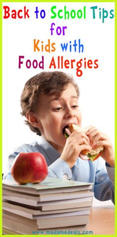 Back to school tips for kids with food allergies