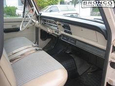 1968 Ford truck interior | ... Bronco Graveyard - Reader's Ride #14030: 1968 Ford F-Series Pickup