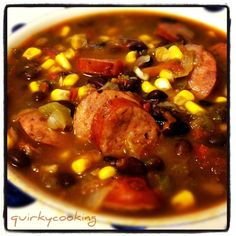 I love this soup. On a rainy night like tonight, it's the perfect comfort food. I love it with a steaming hot slice of homemade cornbread dipped in, or […]