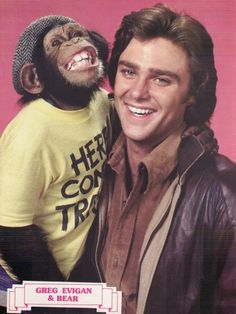 GREG EVIGAN - BJ and the Bear show - loved it loved it.