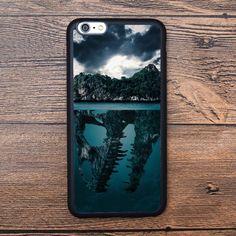 Mysterious island, secret, huge skull Case For IPhone