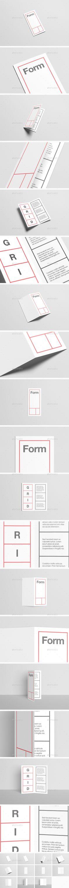查看此 @Behance 项目u201cTri-fold Brochure Template Freebieu201d  - half fold brochure template