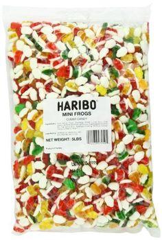 Haribo Gummy Candy, Mini Frogs, 5-Pou... (bestseller)
