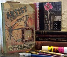 altered books | ... this altered book techniques i extended enrollment altered book 1