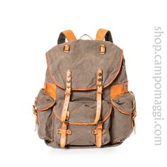 Weekend travel bags BACKPACK Campomaggi- classic backpack, good to have a source