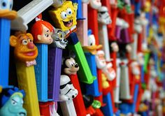 I love PEZ dispensers! I have collected them for many years but now only buy an occassional one due to the outrageous number I already own and no way to display.