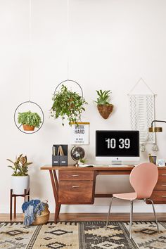 How to Decorate a Lively Home Office | Joybird