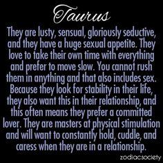 Taurus relationship