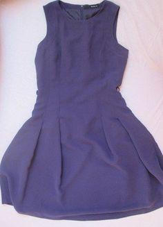 Kup mój przedmiot na #vintedpl http://www.vinted.pl/damska-odziez/krotkie-sukienki/15570077-sukienka-fioletowa-rozkloszowana-plisowana-reserved-s