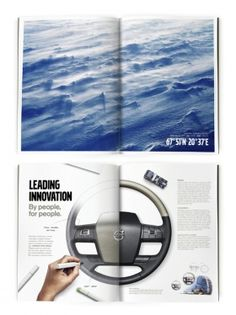 Nominated to Svenska Designpriset 2014 | Volvo internal brand book