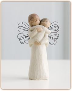 """Angel's Embrace...Hold close that which we hold dear...The sentiment 'hold close that which we hold dear' can refer to someone or something tangible — or intangible and ethereal."""""""
