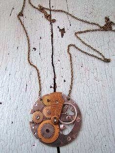 Celestial Necklace Ecofriendly by lesliejanson on Etsy