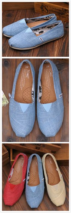 TOMS shoes are half off. Choose the best one for winter. Crazy Shoes, Me Too Shoes, Tom Shoes, Toms Shoes Outlet, Shoe Outlet, Vintage Couture, Womens Toms, Blue Shoes, Just In Case