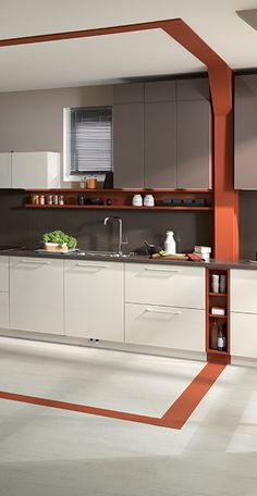 Discover the Home Design by SCHMIDT! Design your kitchen, wardrobe, cupboard or bathroom unit with the specialist in bespoke furniture. New Kitchen Interior, Kitchen Room Design, Kitchen Cabinet Design, Modern Kitchen Design, Kitchen Decor, Kitchen Modular, Modern Kitchen Cabinets, Kitchen Furniture, Latest Kitchen Designs
