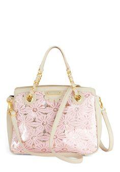 Betsey Johnson Having a Field Daisy Handbag, #ModCloth