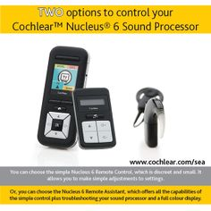 The Nucleus® 6 System has two remote options.