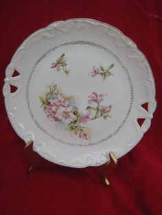 Shabby Chic Cake Stand With Lid