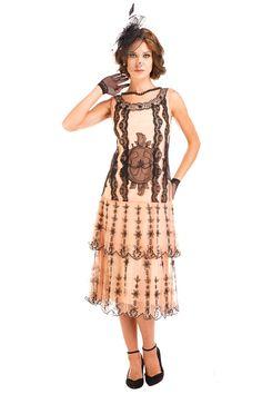 1900 Edwardian Dresses Tea Party White Lace Eva 1920s Fler Style Dress
