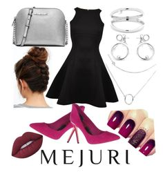 """""""Mejuri"""" by stylishdirectioner on Polyvore featuring Ted Baker, MICHAEL Michael Kors and Lime Crime"""