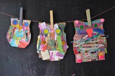 Make these owl collages with cereal boxes and recycled art. Classroom Art Projects, Art Classroom, Projects For Kids, Diy For Kids, Crafts For Kids, Recycled Art Projects, Recycled Materials, Love Collage, Collage Art