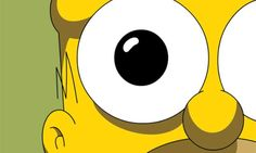 I see you... Hihi  Homer Simpson.