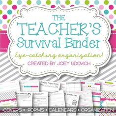 If you are looking for the ULTIMATE in teaching organization, look no further! I have been updating all of my other teaching binders to be BETTER THAN EVER! This file has so much to offer. Teacher Planner Free, Teacher Binder, Teacher Tools, Teacher Hacks, Teacher Stuff, Calendar Organization, Classroom Organization, Classroom Management, Organizing