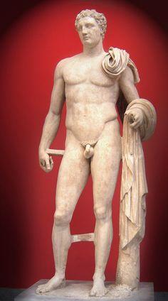 Hermes, posiblemente por Lisipo, Museo Arqueológico Nacional, Atenas. Deidad olímpica.