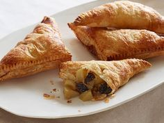 Ina's Apple Turnovers have a surprise addition inside: dried cherries, nutmeg and a teaspon of orange zest.