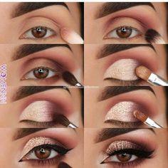 23 Pure Smokey Eye Make-up Make You Sensible eye make-up tutorial; eye make-up for brown eyes; eye make-up pure; Eye Makeup Tips, Makeup Hacks, Skin Makeup, Makeup Inspo, Eyeshadow Makeup, Makeup Ideas, Drugstore Makeup, Makeup Products, Easy Eyeshadow