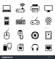Computer Icon Set Vector                                                                                                                                                                                 More