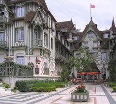 Normandy Barrière hôtel - Deauville, Normandie - France <3<3<3<3