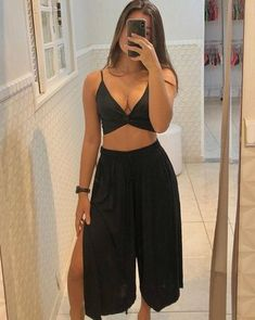 Cute Summer Outfits, Cute Casual Outfits, Chic Outfits, Girl Outfits, Fashion Outfits, Dope Fashion, Girl Fashion, Womens Fashion, Look Cool