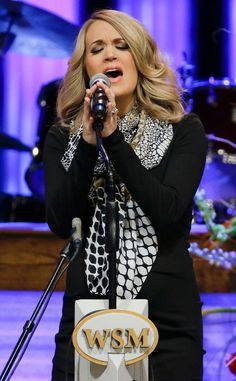 Pregnant Carrie Underwood Flaunts Biggest Baby Bump Yet During Tribute Performance to Little Jimmy Dickens  Carrie Underwood