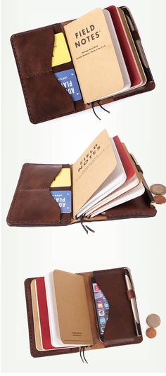 Personalized leather journal. Leather notebook cover.Notebook