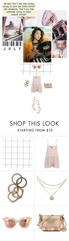 """Don't you feel powerless living in other people's worlds?"" by miky94 on Polyvore featuring moda, Mason by Michelle Mason, Rachel Leigh, Dolce&Gabbana e Nine West"