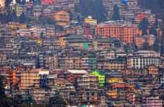 Darjeeling, Himalayan city in the Indian state of West Bengal.