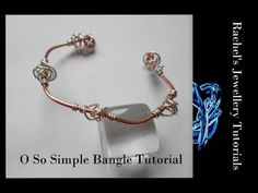 ▶ O So Simple Spiral Knot Bangle - A Wire Wrap Tutorial - YouTube - This tutorial looks so easy and the instructions are great!