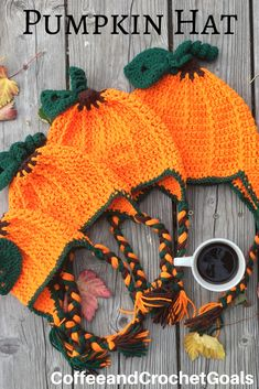 Now four sizes are available for the free crochet pumpkin hat pattern. Fall Crochet Hats, Crochet Pumpkin Pattern, Halloween Crochet Patterns, Crochet Baby Hat Patterns, Crochet For Kids, Free Crochet, Halloween Crochet Hats, Crochet Toddler Hat, Halloween Hats