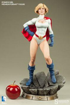 DC Comics Power Girl Premium Format(TM) Figure by Sideshow C   Sideshow Collectibles