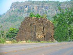 pontos turisticos de mato grosso: Conheça a famosa Pedra Solteira em Tangará da Serr...