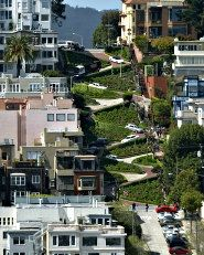 The famously windy and steep Lombard Street in San Francisco, CA  #SF #Travel