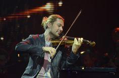 David Garrett in der Innsbrucker Olympiahalle bei seinem vorletzten Konzert der