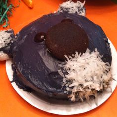 "My version of the cake I found on Pintrest ... Graham's ""smash cake"""