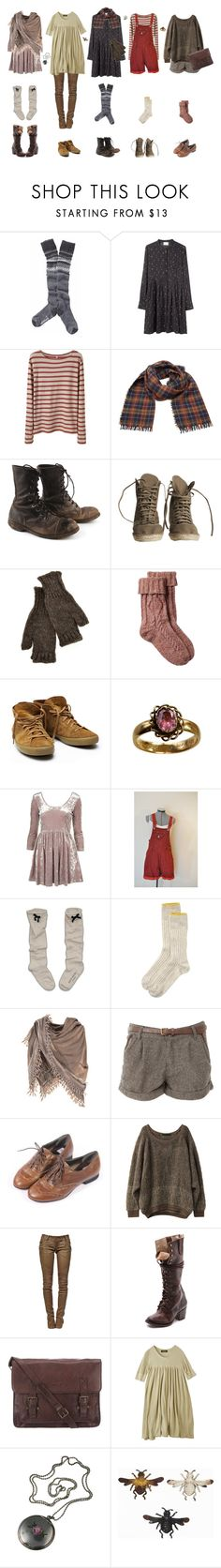 """""""The Baker Girl"""" by vogelprinz ❤ liked on Polyvore featuring Smartwool, Band of Outsiders, R13, Étoile Isabel Marant, SULTAN WASH, Inverni, Fat Face, Toast, J. Peterman and Ganzi"""