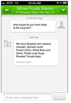 TalkTo: una aplicación que te permite interactuar con cualquier negocio | 27 nuevos productos ingeniosos que no sabías que existían